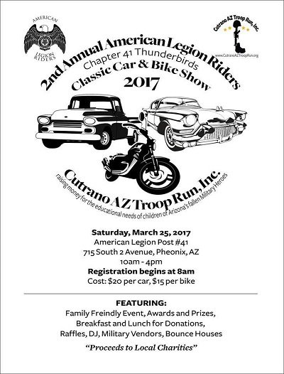 2nd Annual American Legion Riders Car Show