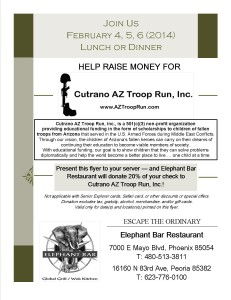 Elephant Bar Flyer - 1-13-14 - CutranoAZTroopRun